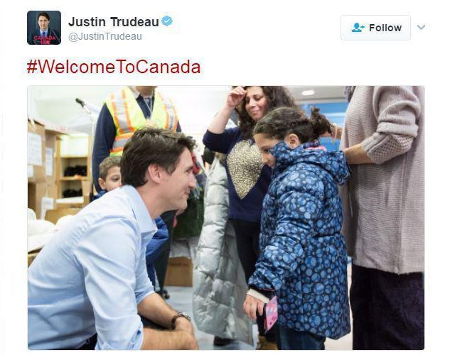 trudeau-welcomes-refugees